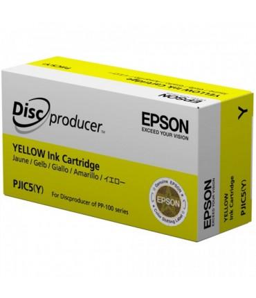 Cartouche d'encre PJIC5 pour PP50 PP100 yellow