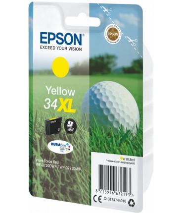 "Recharge 34XL ""Golf"" WF 3720 3725 yellow"