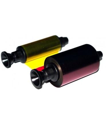 Ruban couleur 5 panneaux YMCKO Pebble Dualys3 Securion Quantum2
