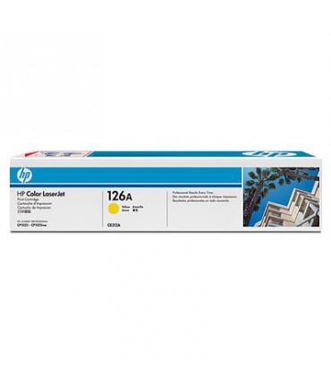 Toner 126A Color Laserjet Pro CP1025 M175 M275 yellow