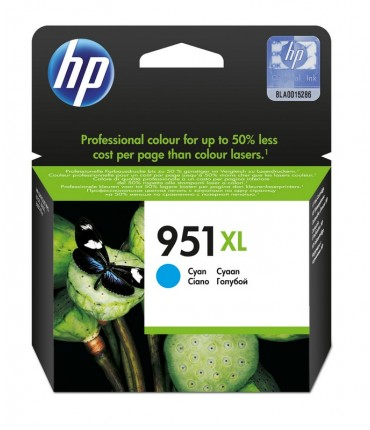 Cartouche 951XL Officejet Pro 8100 8600 cyan