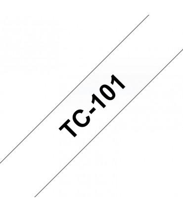 Ruban Ptouch 12 mm noir/transp Ptouch 6 8 15 20 500 2000 3000 5000