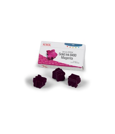 3 bâtonnets ColourStix® Phaser 8400 magenta