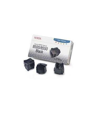 3 bâtonnets ColourStix® Phaser 8500 8550 noir capacité standard