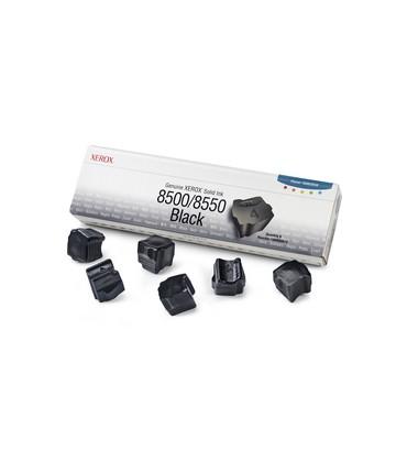 6 bâtonnets ColourStix® Phaser 8500 8550 noir grande capacité