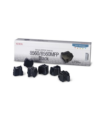 6 bâtonnets ColourStix® Phaser 8560 noir