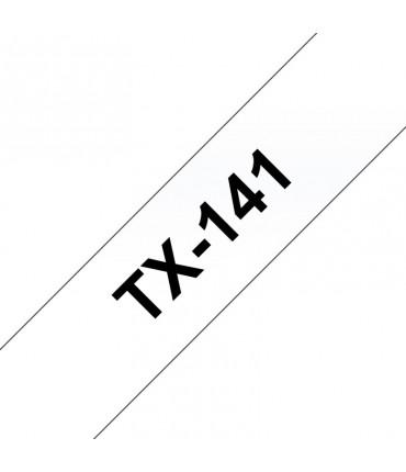 Ruban laminé 18 mm noir/transpa rouleau P-Touch PT-7000 PT-8000 PT-PC