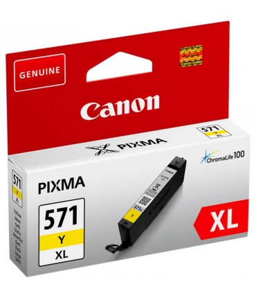 CLI571Y XL Pixma MG 5750 5751 5752 5753 6850 6851 6852 6853 7750