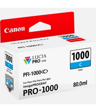 Cartouche PFI1000C iPF PRO-1000