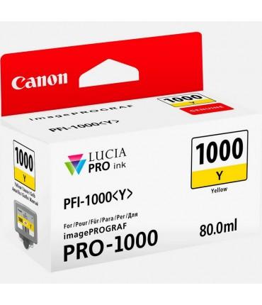 Cartouche PFI1000Y iPF PRO-1000