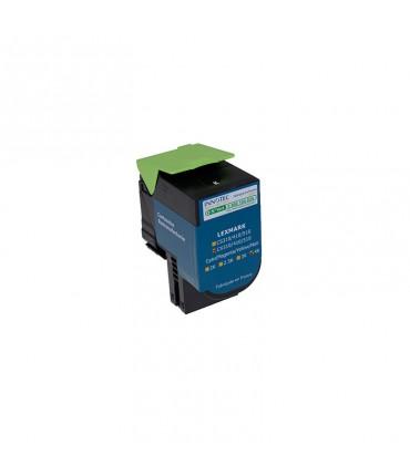Toner compatible Lexmark CX410 CX510 noir grande capacité