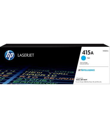 Toner 415A Color LaserJet Pro M454 M479 M480 cyan petite capacité