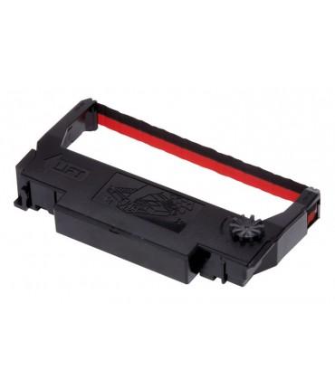 Ruban Epson ERC38BR noir/rouge