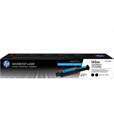 Kit de recharge 143A Neverstop Laser 1001 1201 1202 double pack