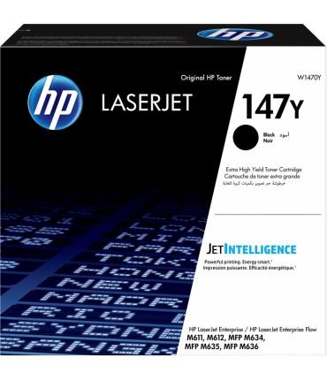 Toner 147Y Laserjet Entreprise M611 M612 M635 M636