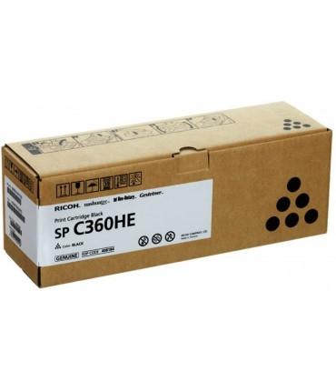 Toner C360HE SP C360 C361 noir