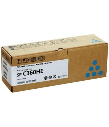 Toner C360HE SP C360 C361 cyan