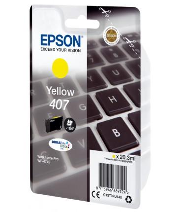 Recharge 407 WF Pro 4745 yellow