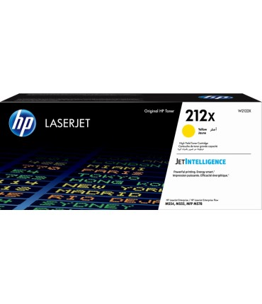 Toner 212X Laserjet Enterprise M554 M555 M578 yellow