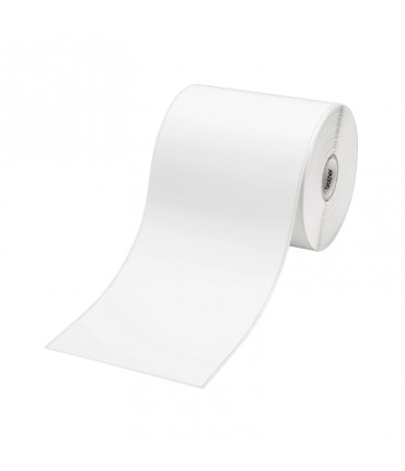 Étiquettes sur papier continu 102 mm x 44,3 m