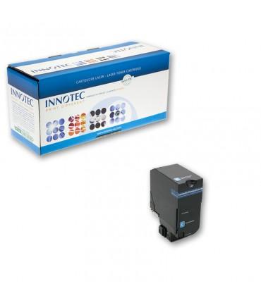 Toner compatible Lexmark CS720 CS725 cyan petite capacité