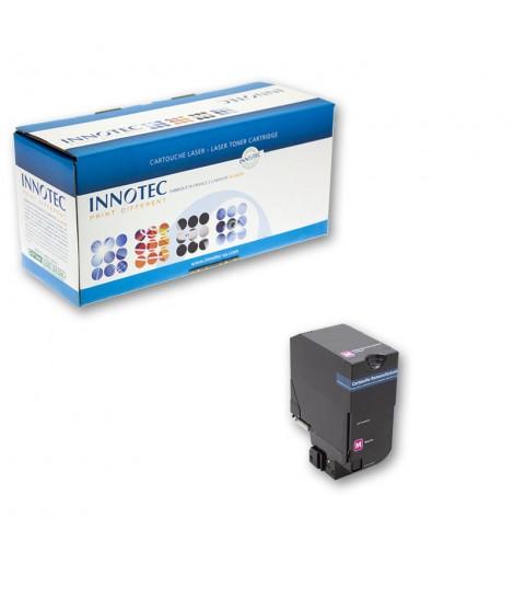 Toner compatible Lexmark CS720 CS725 magenta petite capacité